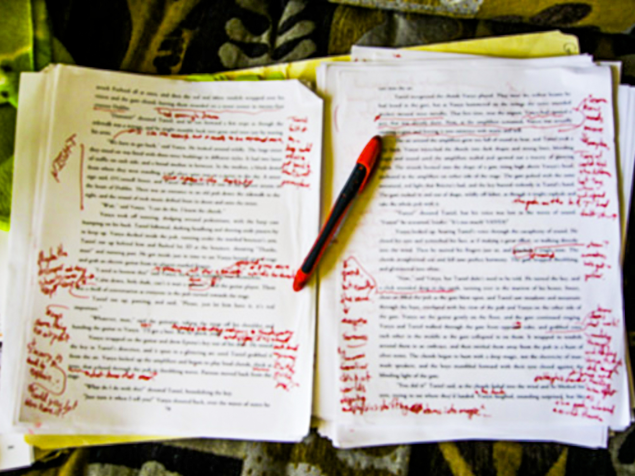 Book Editing - Eddie Johnson