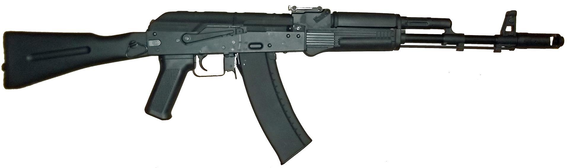 AK47 Kalashnikov rife